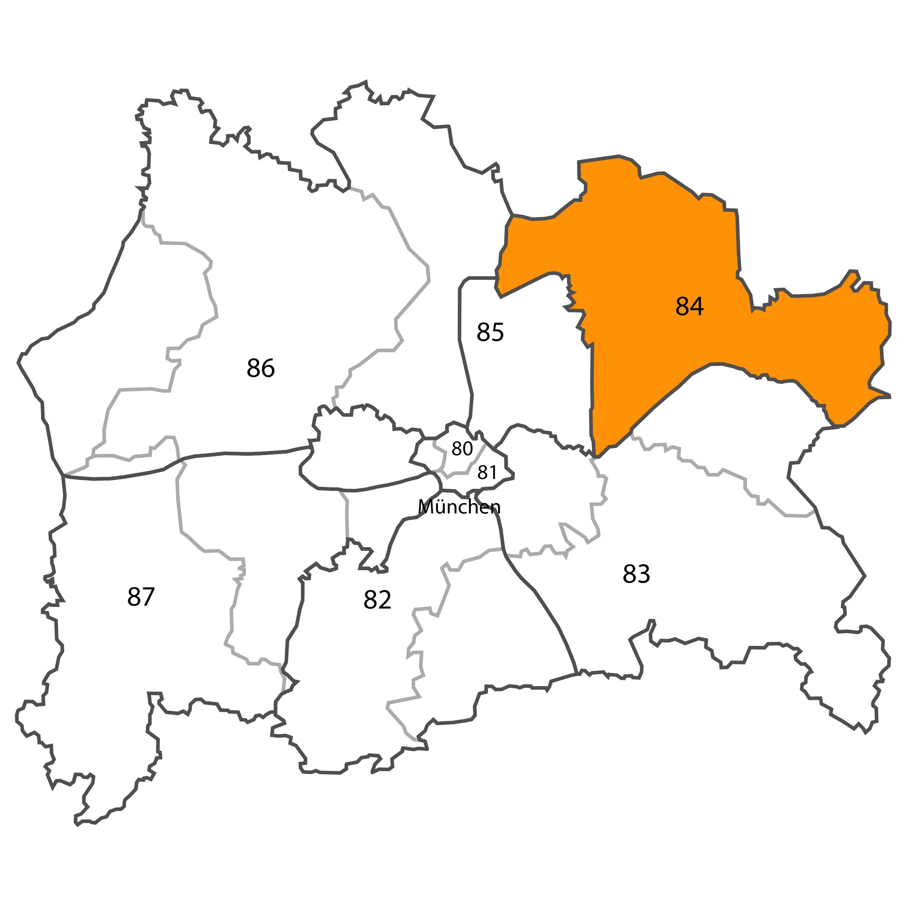Gebietskarte - Harald Wagner