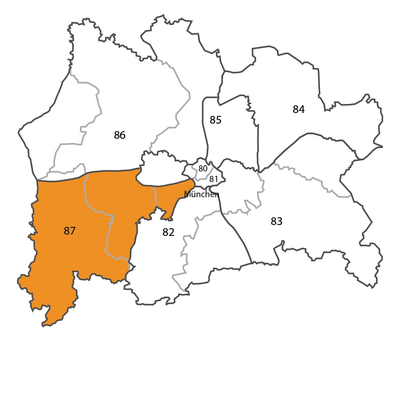 Gebietskarte - Matthias Neugebauer