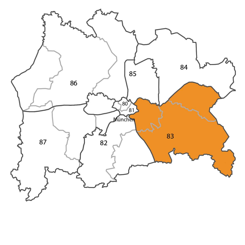 Gebietskarte - Steffen Haase
